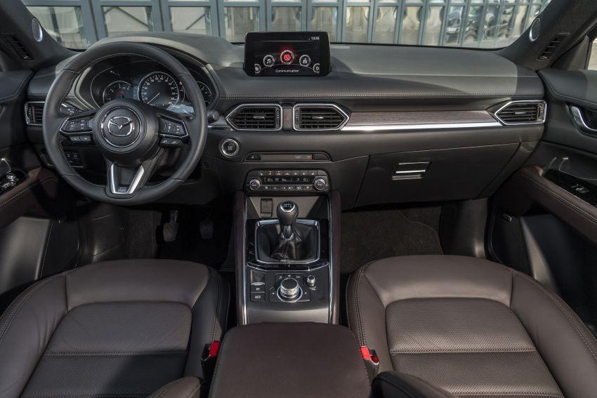 Nội thất của Mazda CX-5 2020