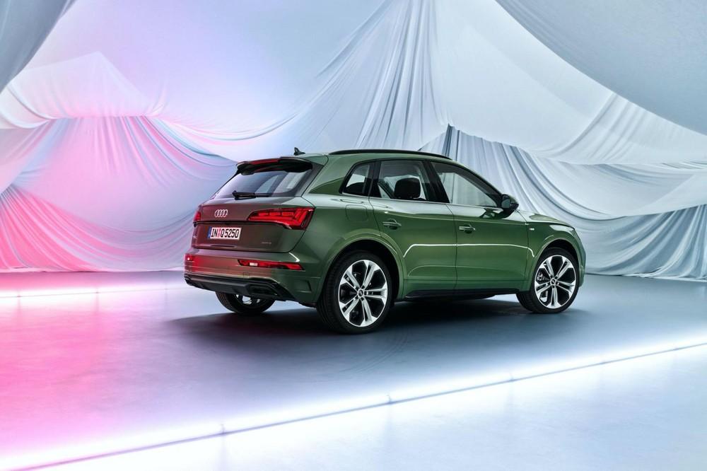 Tại thị trường châu Âu, Audi Q5 2021 có ít nhất 6 tùy chọn động cơ