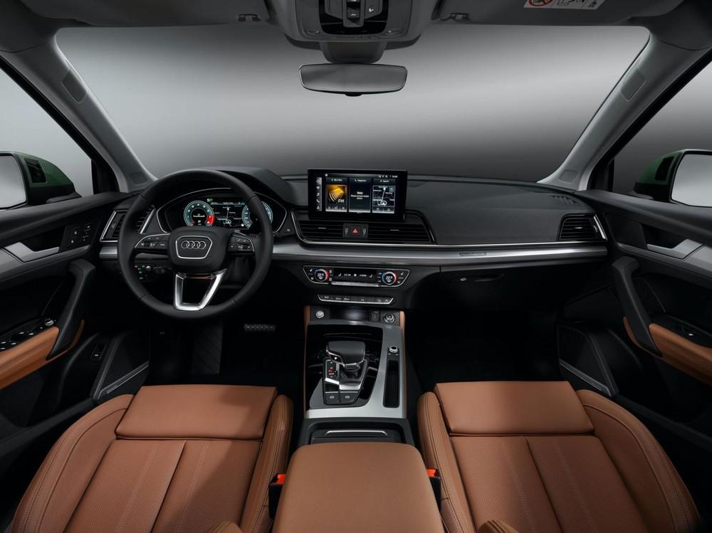 Nội thất của Audi Q5 2021