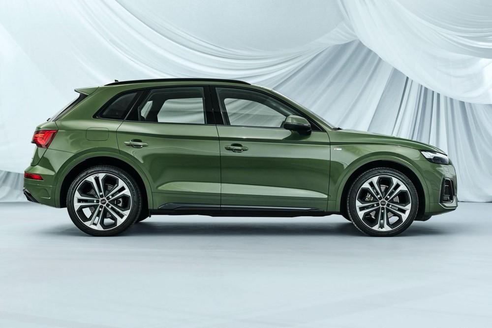 Audi Q5 2021 dài hơn trước 19 mm