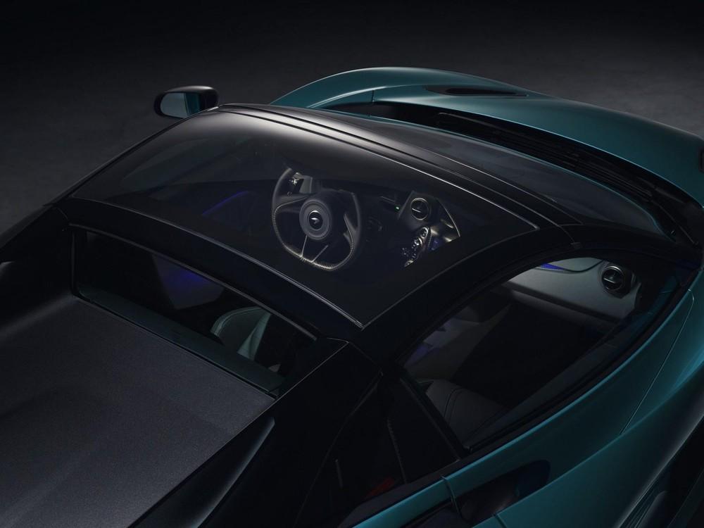 Tấm kính đổi màu cho McLaren 720S Spider