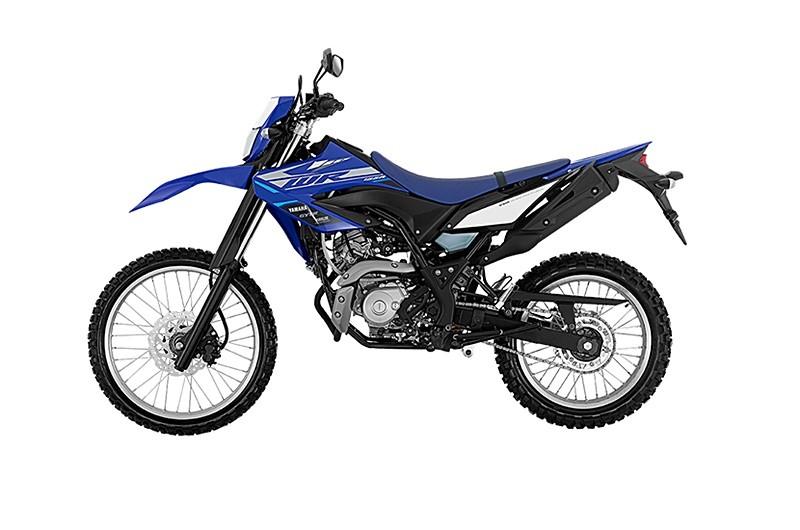 Bộ khung phụ đôi đặc biệt trên Yamaha WR155 2020