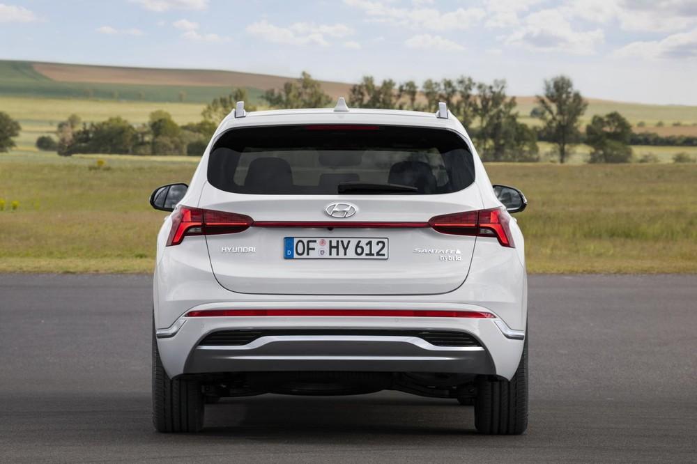 Hyundai Santa Fe 2021 phiên bản hybrid dành cho thị trường châu Âu