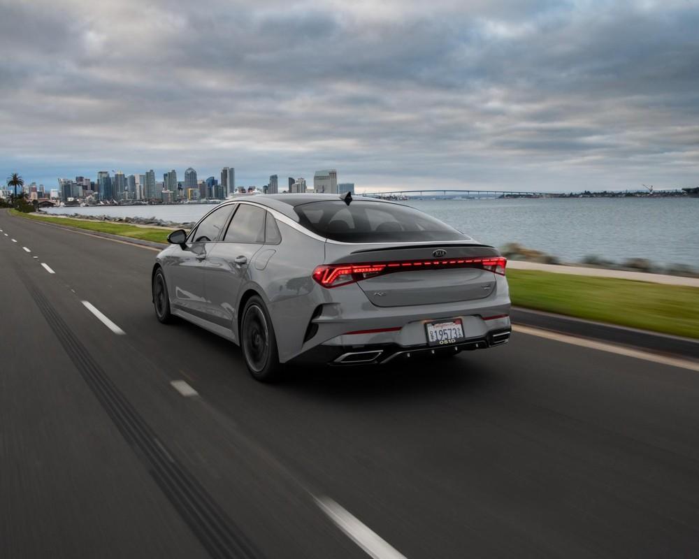 Hiện giá xe Kia K5 2021 tại Mỹ vẫn chưa được công bố