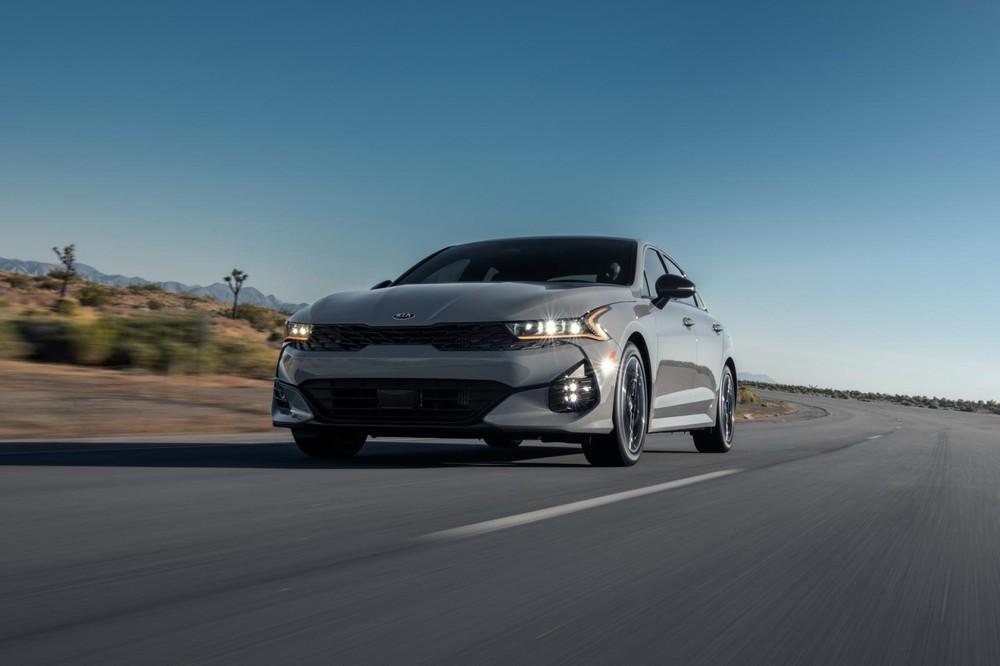 Kia K5 2021 tại thị trường Mỹ không khác biệt nhiều so với xe ở Hàn Quốc