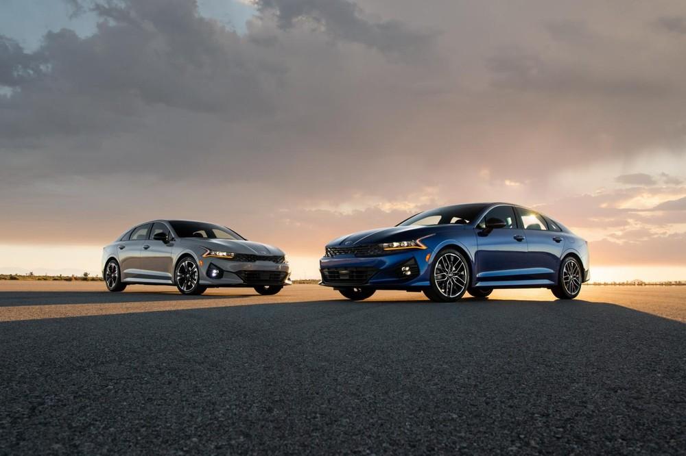 Kia K5 2021 ra mắt thị trường Mỹ