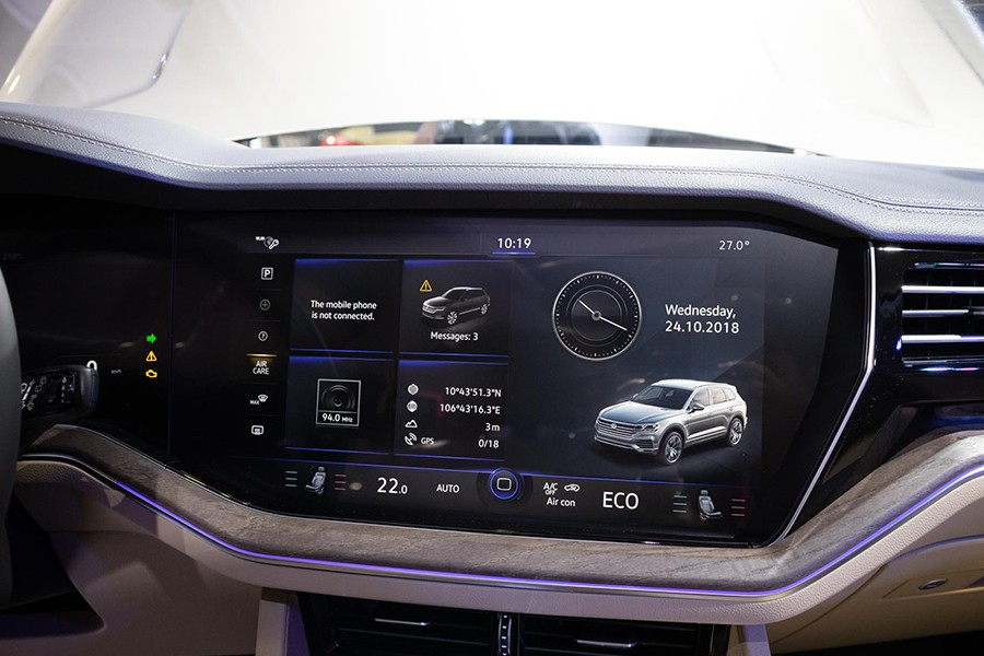 Giá xe Volkswagen Touareg