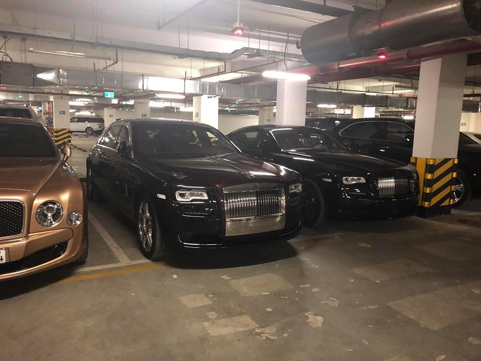 Hai chiếc Rolls-Royce của một đại gia Hà Nội