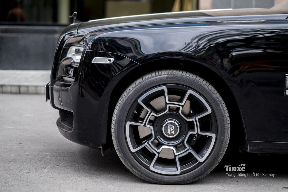 Vành xe Rolls-Royce Ghost Black Badge