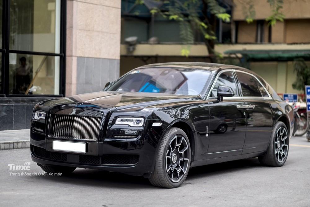Tổng thể Rolls-Royce Ghost Black Badge