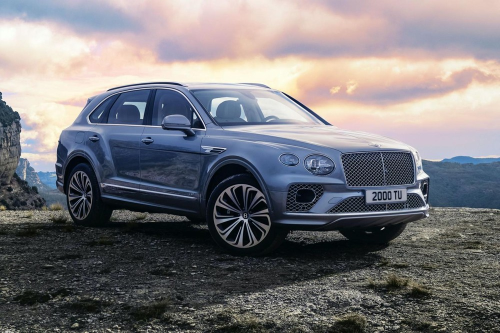 Bentley Bentayga 2021 facelift