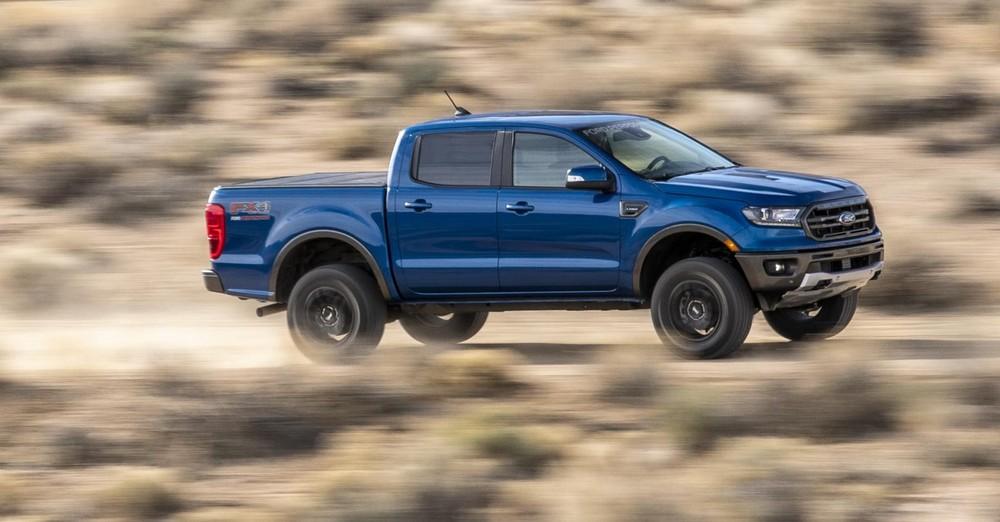 Ford Ranger 4WD 2019 và 2020 sẽ được tăng khả năng offroad nhờ gói trang bị nâng cấp
