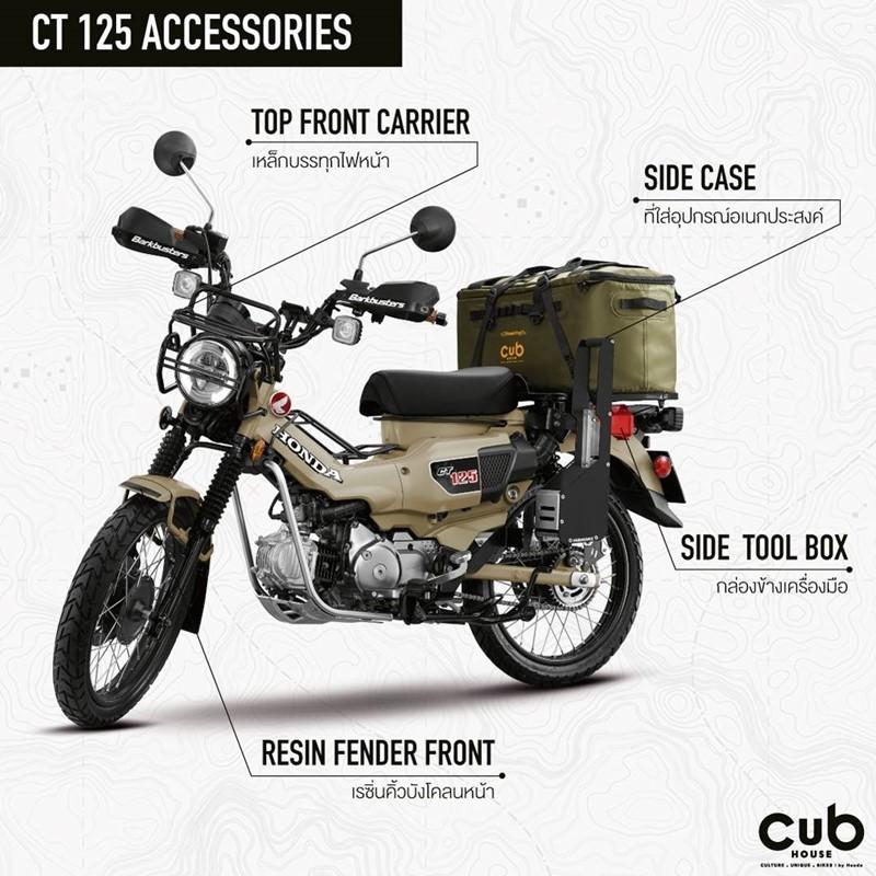 Bộ phụ kiện tuyệt vời dành riêng cho Honda CT125 của CUB House