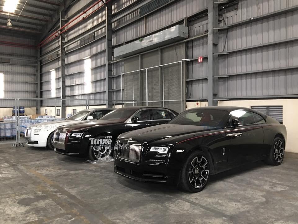 1 trong số những chiếc Rolls-Royce Wraith Black Badge tại Việt Nam