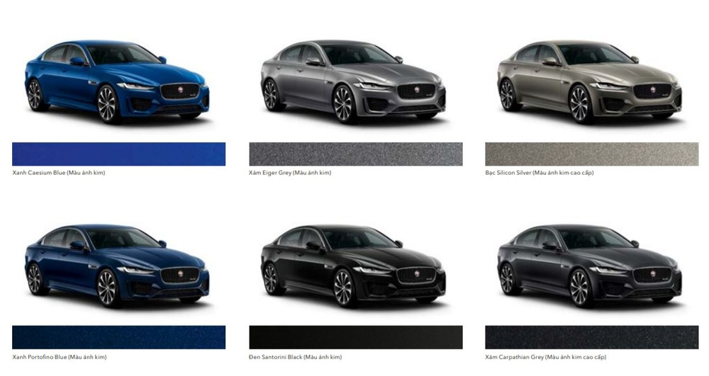 Giá xe Jaguar XE 2020