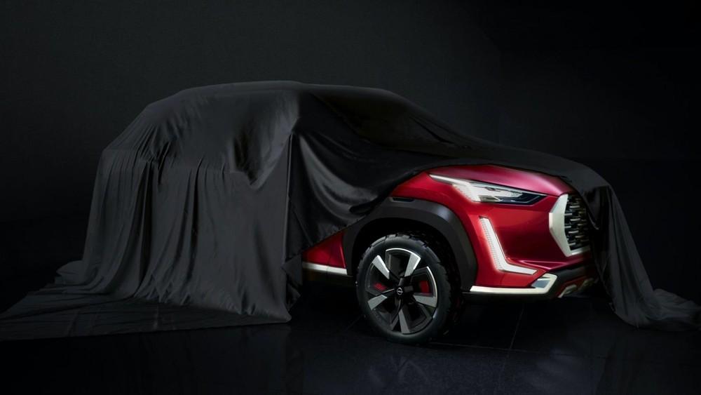 Hình ảnh teaser của Magnite do hãng Nissan tung ra