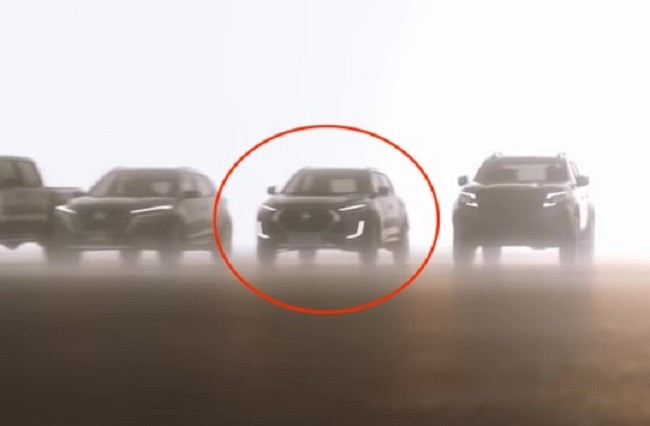 Magnite xuất hiện trong một đoạn video của hãng Nissan cách đây không lâu