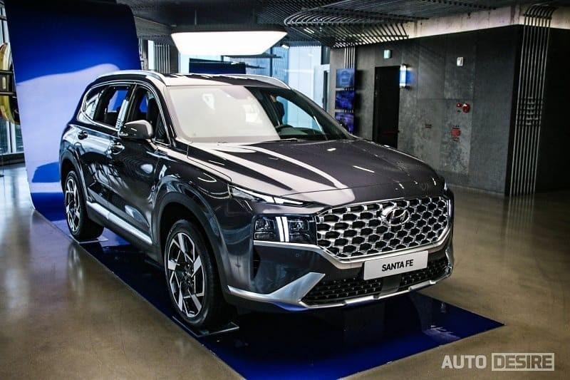 The Hyundai Santa Fe 2021 N Performance Kit sports version ...