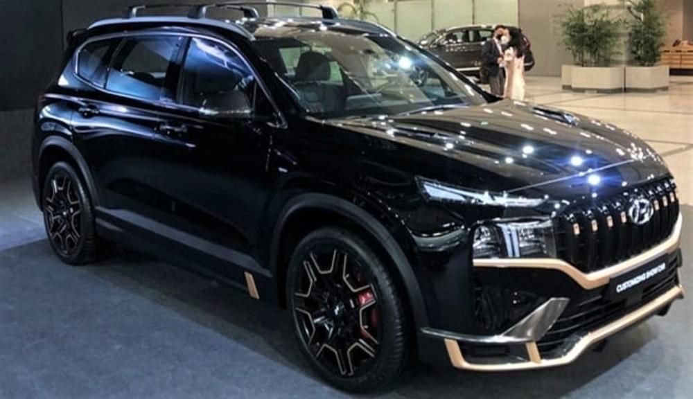 Hyundai Santa Fe N Performance Kit bất ngờ được trưng bày trong sự kiện tại Hàn Quốc