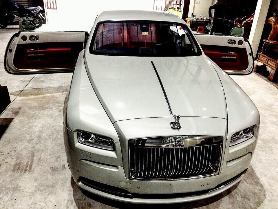 Vẻ đẹp của Rolls-Royce Wraith