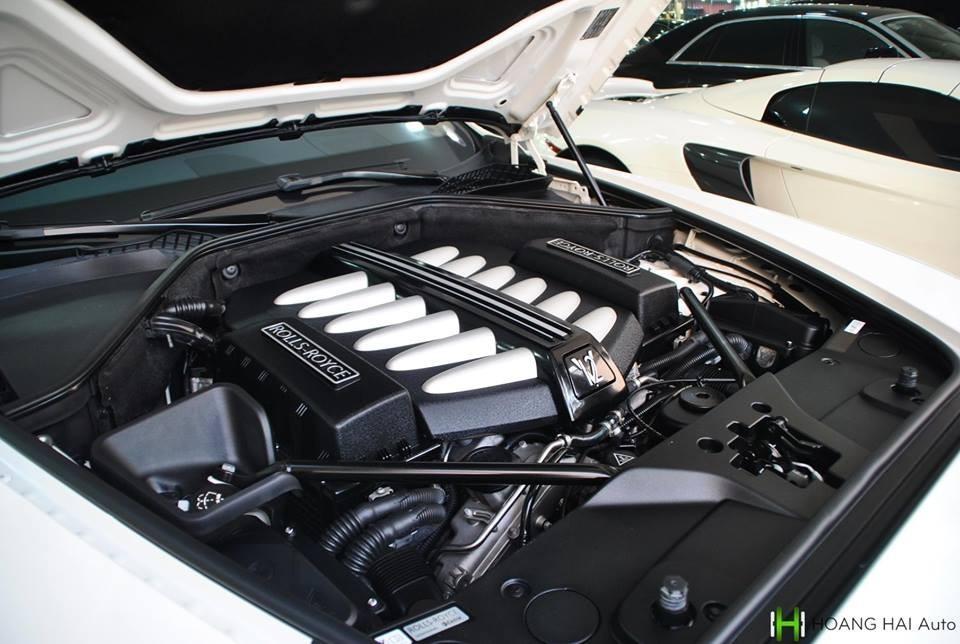 Động cơ của Rolls-Royce Wraith