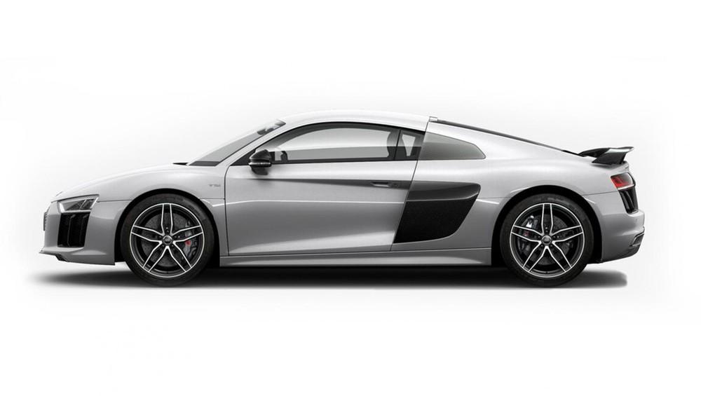 Audi R8 bạc