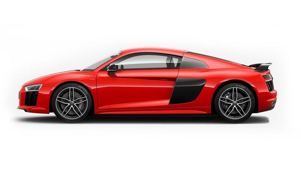 Audi R8 đỏ