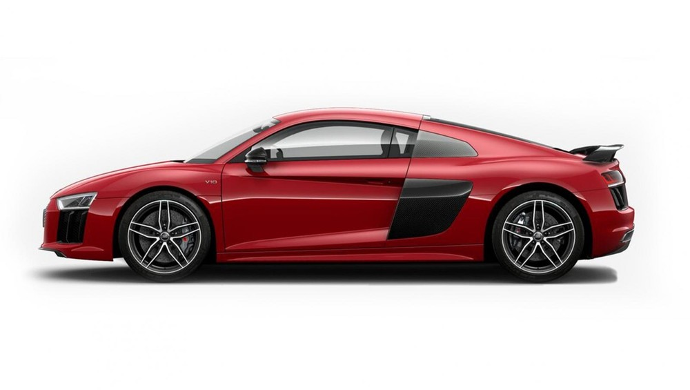 Audi R8 đỏ đậm