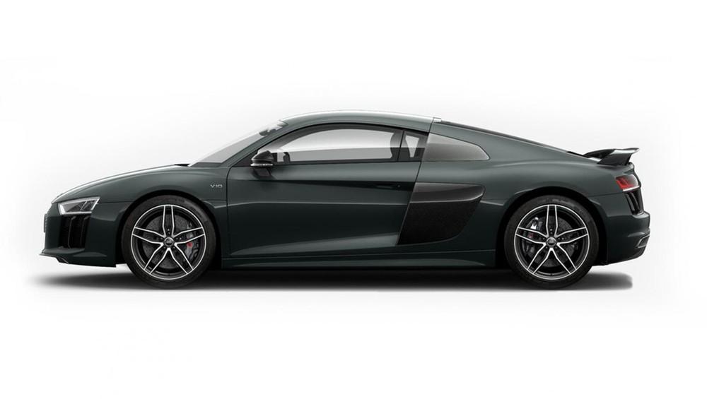 Audi R8 xanh lá