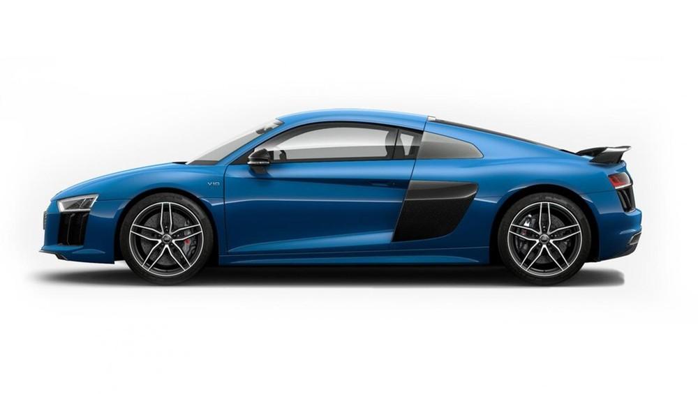 Audi R8 xanh