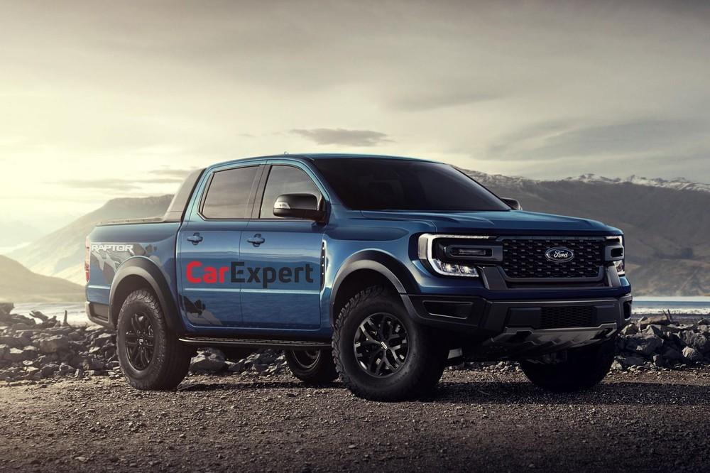 Thiết kế Ford Ranger Raptor 2022 do CarExpert hực hiện