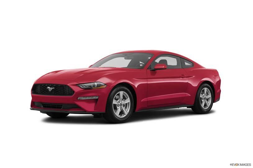 Ford Mustang đỏ đậm