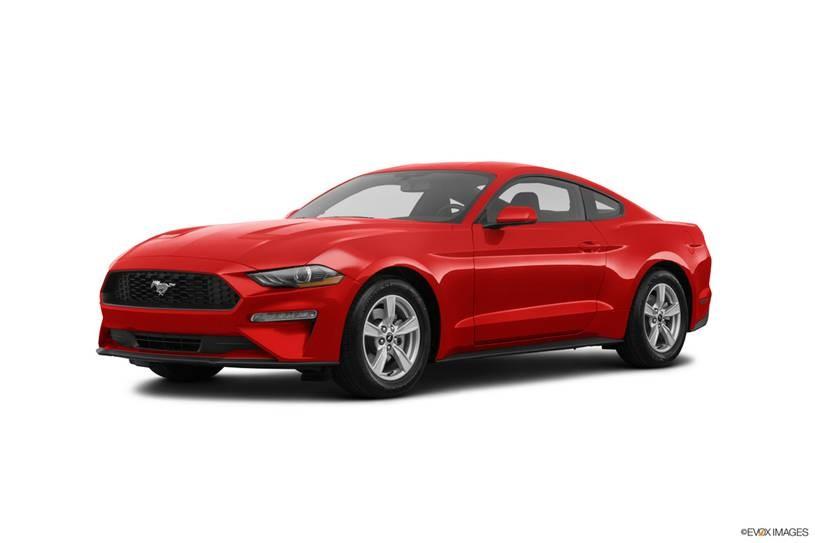 Ford Mustang đỏ