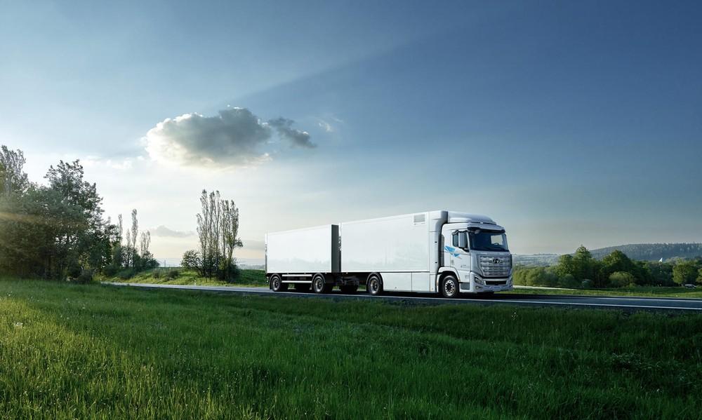 Hyundai XCIENT Fuel Cell sẽ được sử dụng tại Thụy Sĩ đầu tiên
