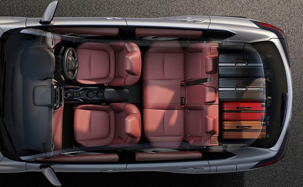 Bên trong Toyota Corolla Cross 2020 là nội thất 5 chỗ ngồi