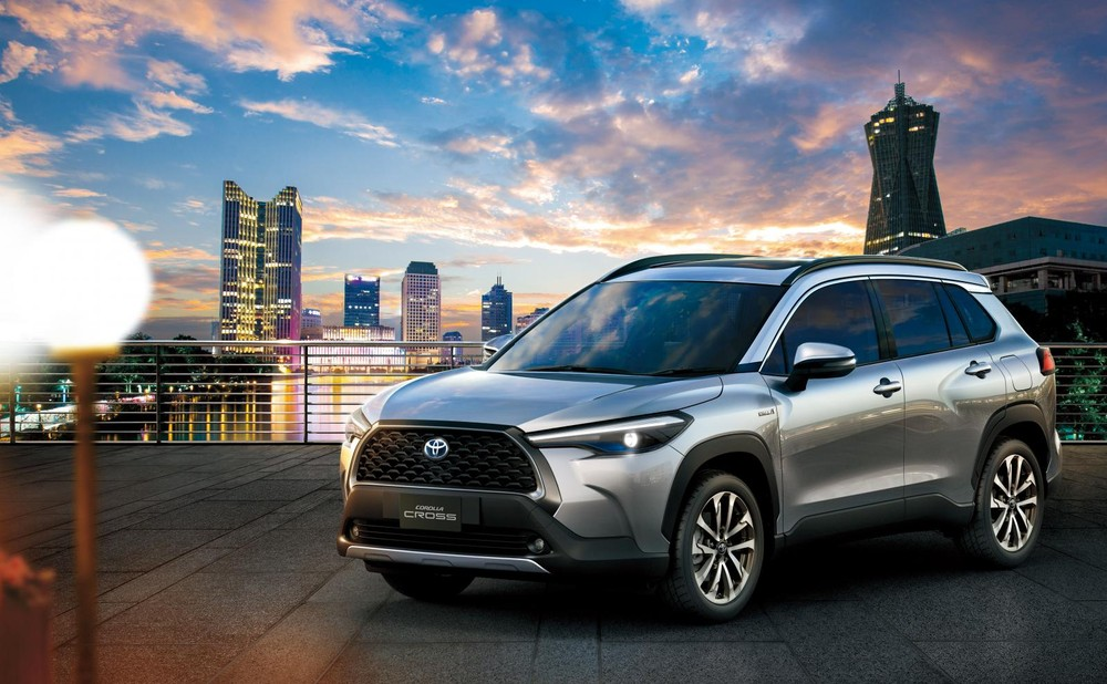 Toyota Corolla Cross 2020 tại Thái Lan có 2 động cơ
