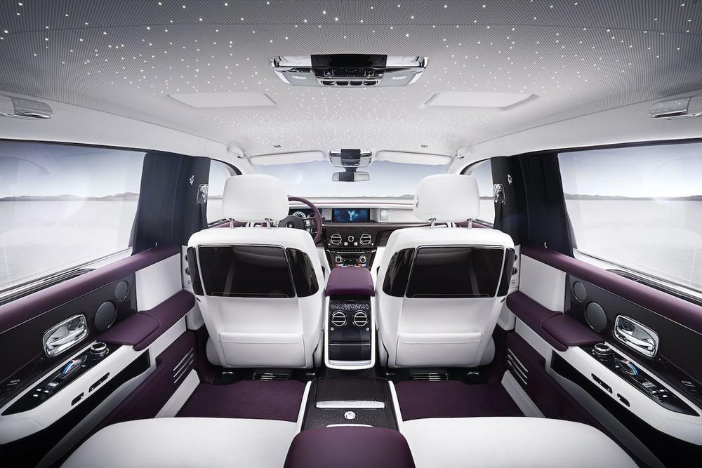 Nội thất của Rolls-Royce Phantom thế hệ thứ 8