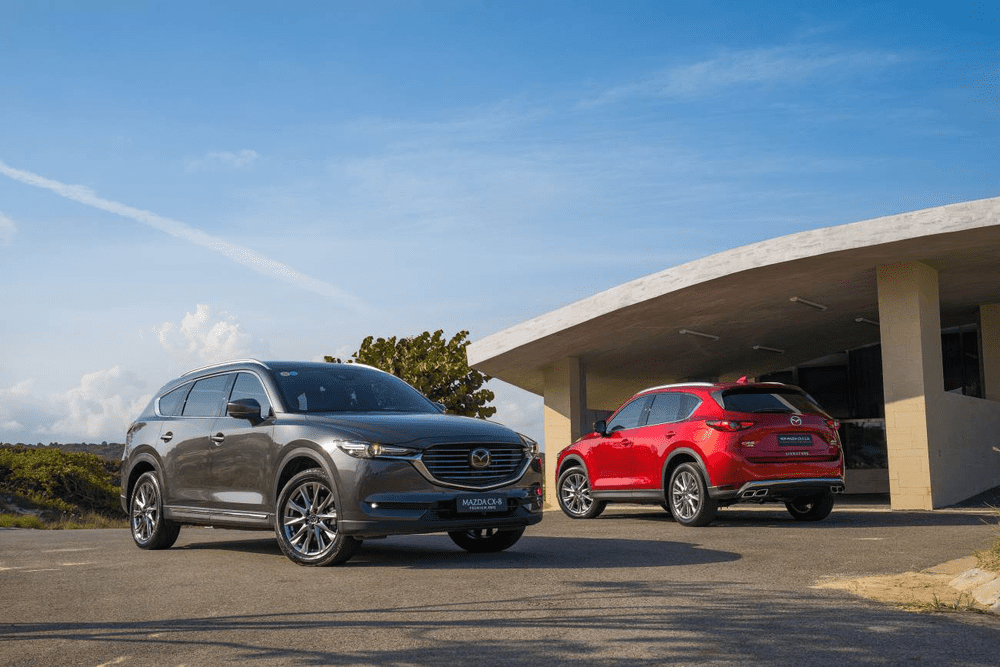 Mazda CX-8 has ever seen a deep discount, up to VND 200 million in July 2020