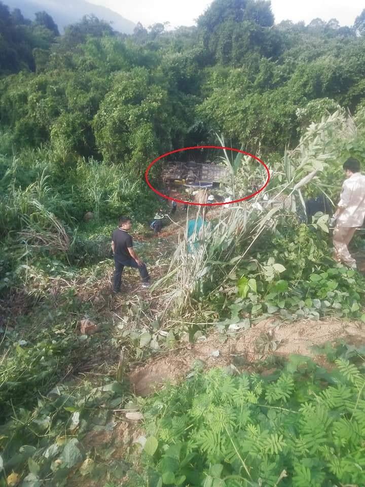 Hiện trường vụ tai nạn nghiêm trọng tại Kon Tum