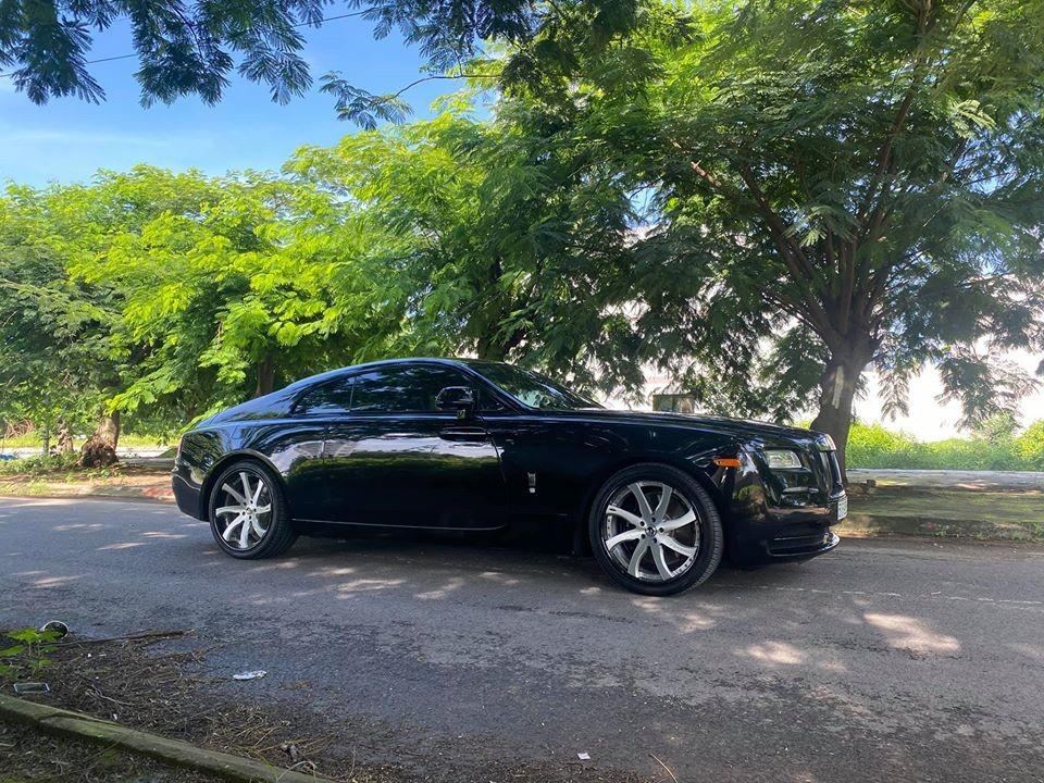Rolls-Royce Wraith trang bị bộ mâm Fondare-ECL của hãng Forgiato