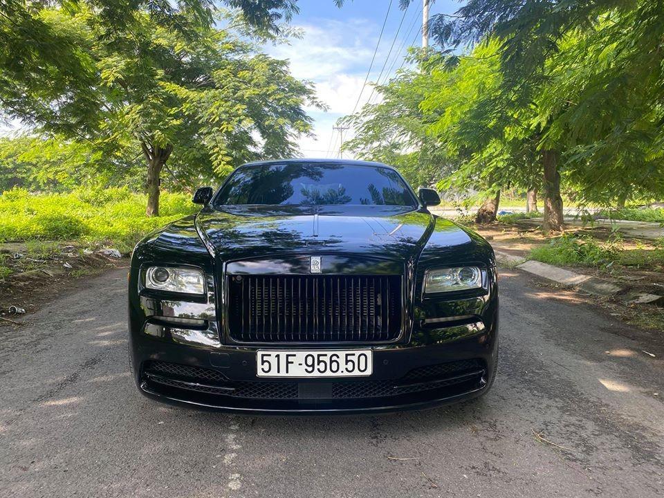 Rolls-Royce Wraith độ mâm Forgiato lạ tại Việt Nam lột áo về màu sơn nguyên bản