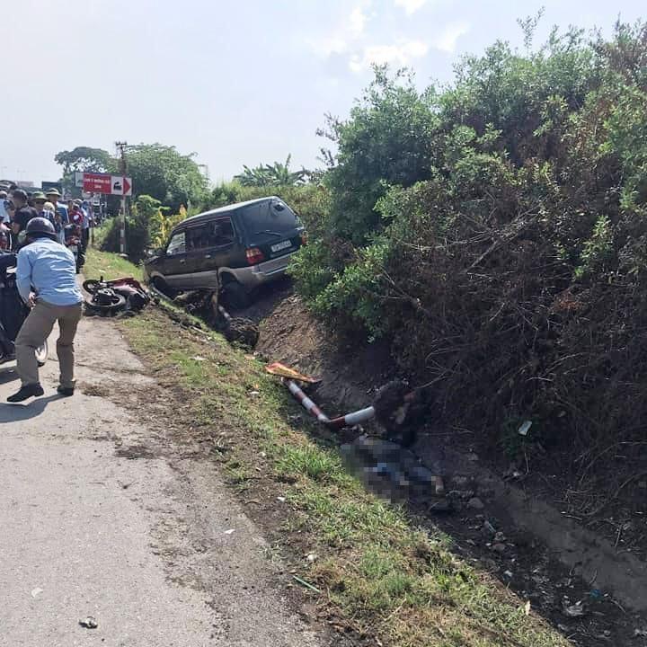 Hiện trường vụ tai nạn nghiêm trọng tại Hải Dương