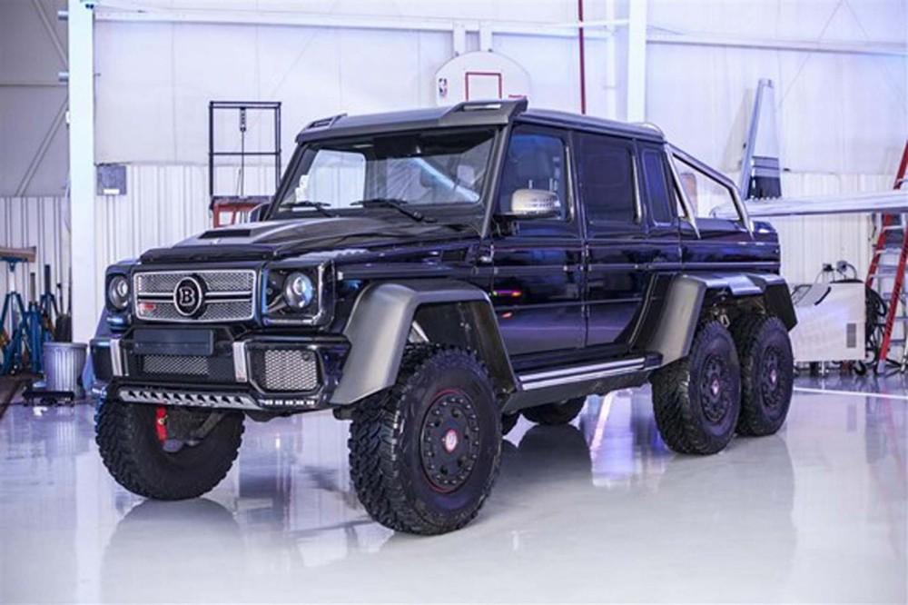 Mercedes-Benz G63 AMG 6x6 đen