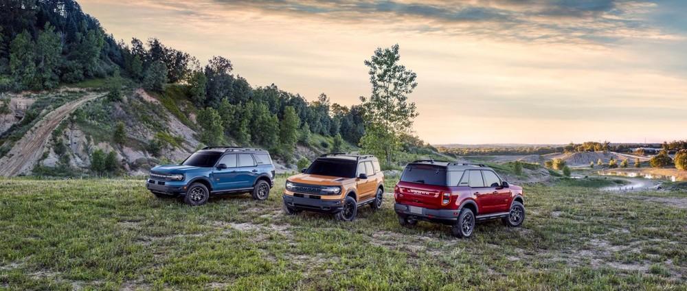 Các phiên bản Ford Bronco Sport 2021