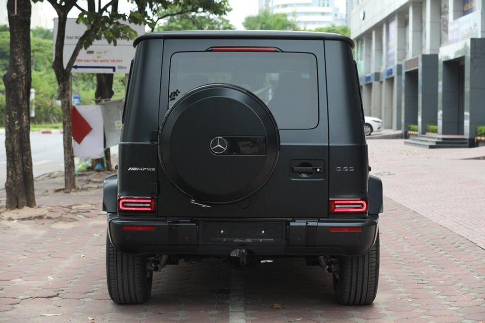 Đuôi xe Mercedes-AMG G63