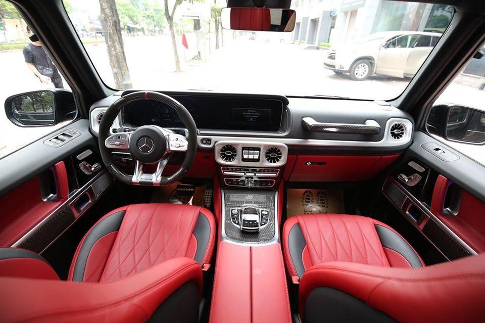 Khoang lái của Mercedes-AMG G63 2020