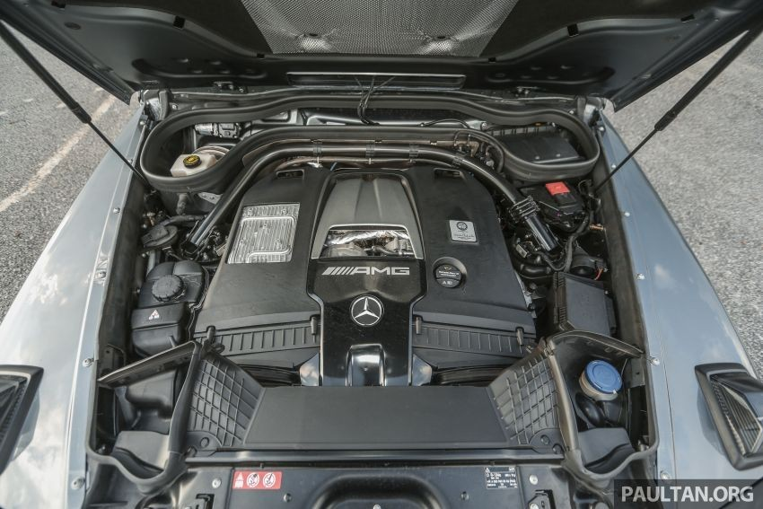 Động cơ V8 của Mercedes-AMG G63
