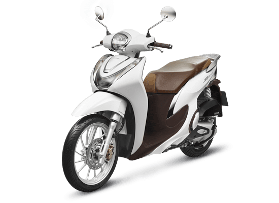Xe Honda SH Mode Thời trang ABS màu trắng