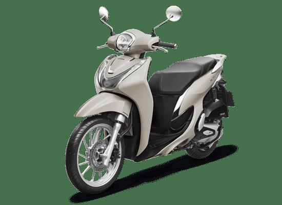 Xe Honda SH Mode Thời trang CBS 2021 màu bạc
