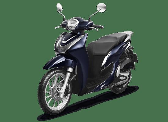 Xe Honda SH Mode Thời trang CBS 2021 màu xanh